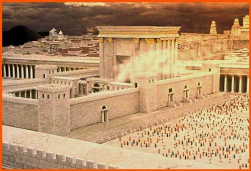 A nostra immagine 12 marzo nasce il tempio di gerusalemme for Come aggiornare le colonne del portico anteriore